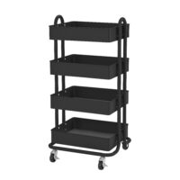 4-Tier Mobile Utility Cart
