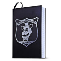 Five Nights at Freddy's Security Badge Journal