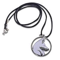 White Wolf Pendant