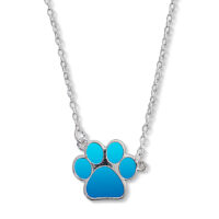 Mood Paw-Print Necklace
