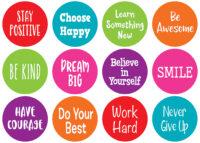 Carpet Markers: Spot on Positive Sayings (12 ct.)