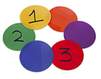 Colorful Floor Markers (12 ct.)