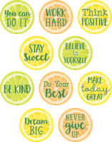 Lemon Zest Positive Sayings Accents (30 ct.)