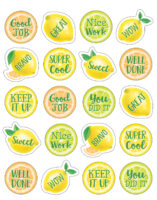 Lemon Zest Reward Stickers (120 ct.)