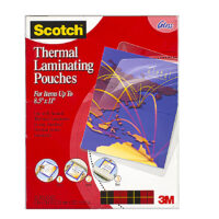 Scotch® Thermal Laminator Letter-Size Pouches