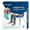 Wiggle Seat Sensory Cushion: Green