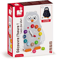 Learn to Tell Time ! Owly Clock