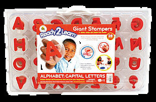Ready 2 Learn Alphabet Giant Stampers Uppercase Al