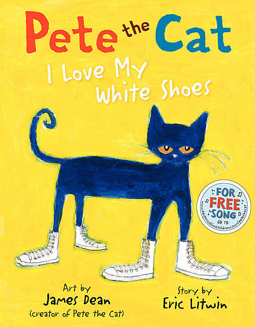Pete the Cat: I Love My White Shoes by Eric Litwin - Hardcover Book - The  Parent Store