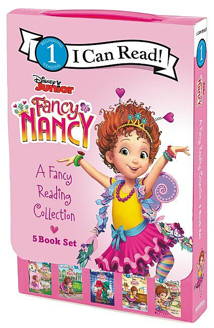 Fancy Nancy I Can Read Level 1 A Fancy Reading Collection By Boxed Set The Parent Store
