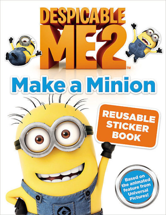 Despicable Me Minions Colouring Book 16 pages with 2 pages Stickers AU