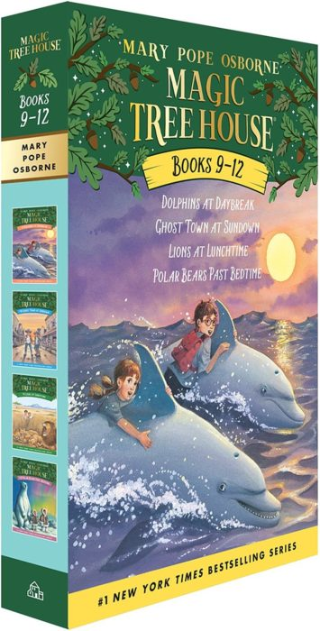 Magic Tree House Boxed Set (9-12)