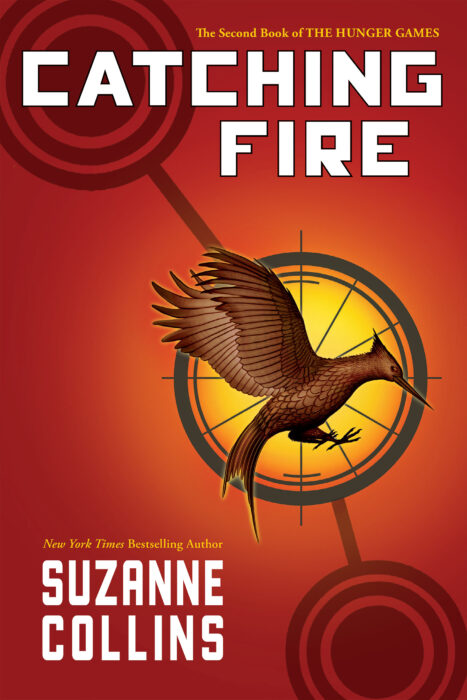 The Hunger Games 2 Catching Fire By Suzanne Collins Hardcover