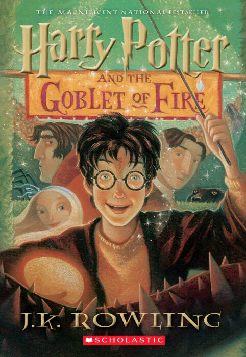 Harry Potter and the Goblet of Fire PB by J. K. Rowling - Paperback Book - The Parent Store