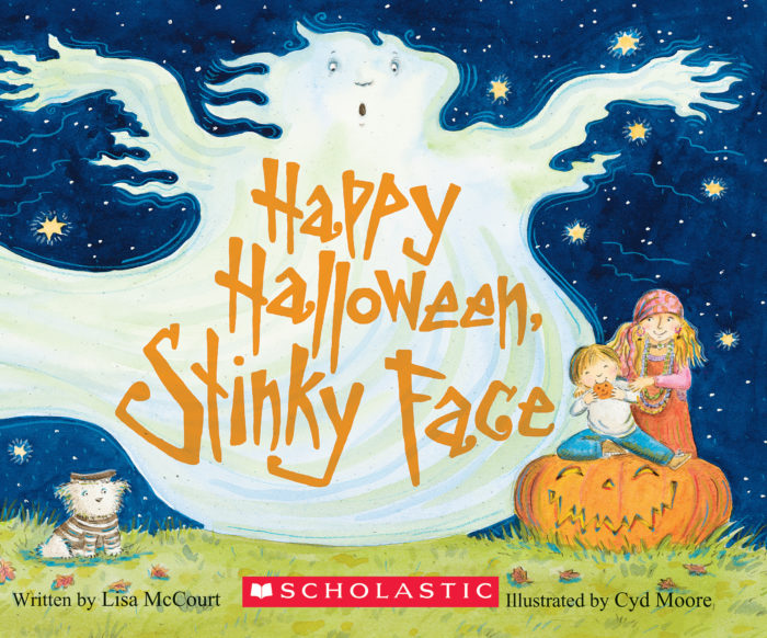 Happy Halloween, Stinky Face (Board Book)