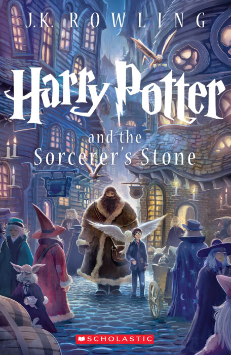 Harry Potter and the Sorcerer's Stone by J. K. Rowling - Paperback ...
