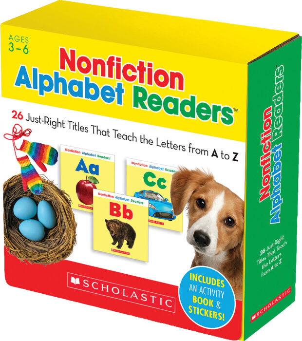 Non-Fiction Alphabet Readers Parent Pack