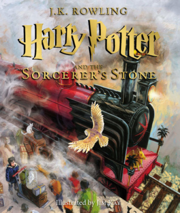 Harry Potter and the Sorcerer's Stone, The Illustrated Edition