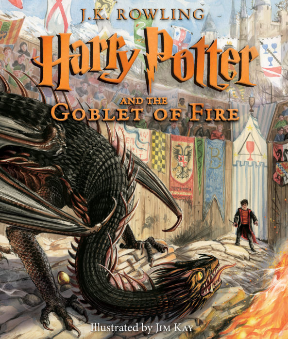 Harry Potter and the Goblet of Fire: Illustrated Edition (Book #4)