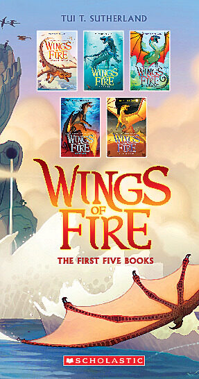 Wings of Fire Boxset (Books 1 – 5)