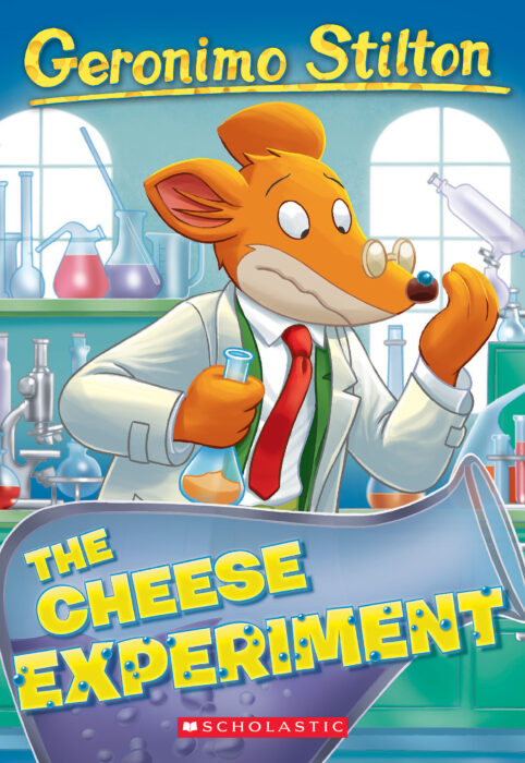 Geronimo Stilton #63: The Cheese Experiment