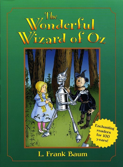 The Wonderful Wizard Of Oz By L Frank Baum Paperback Book The Parent Store
