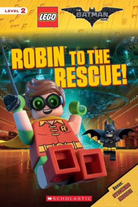 The Lego Batman Movie Robin To The Rescue By Tracey West Paperback Book The Parent Store