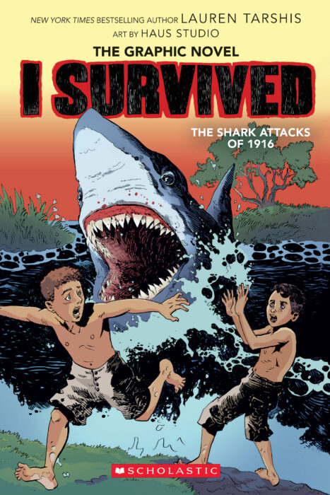 I Survived Graphic Novel #2: I Survived the Shark Attacks of 1916