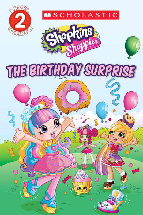 Shopkins Shoppies The Birthday Surprise By Leigh Stephens Paperback Book The Parent Store