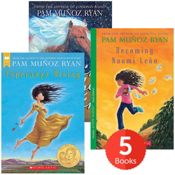 Raise a Reader Set: Pam Muñoz Ryan Award Winners (Ages 9-12)