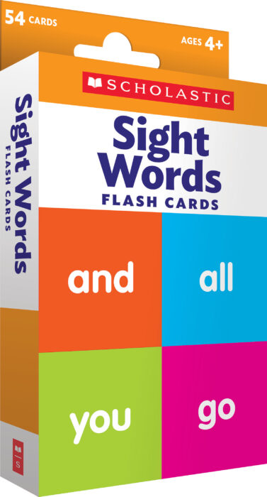 Flash Cards: Sight Words by null Scholastic - Games - The Parent Store