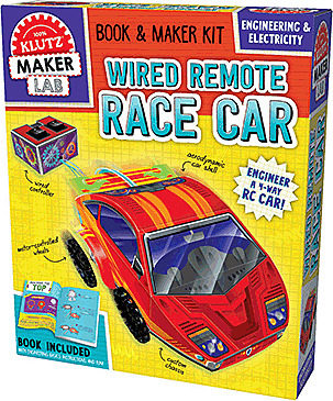 Klutz: Maker Lab: Wired Remote Race Car