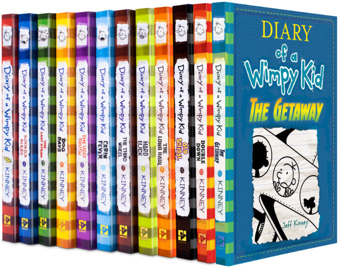 Diary Of A Wimpy Kid Collection Pack 1 12 By Hardcover Book Collection The Parent Store