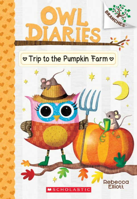 Owl Diaries #11: Trip to the Pumpkin Farm