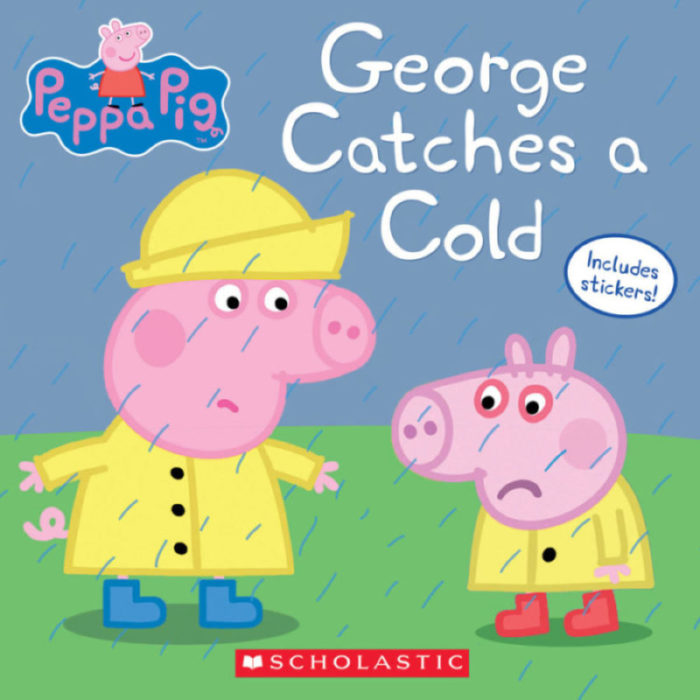 Peppa Pig 8x8: George Catches a Cold