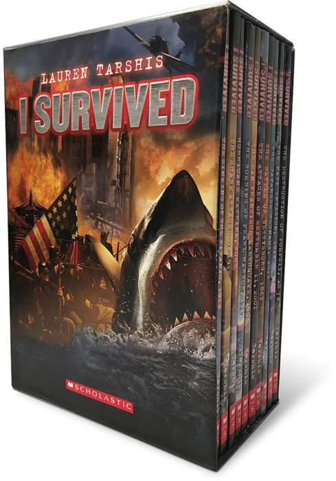 I Survived: Ten Thrilling Stories (Ten-Book Boxed Set)