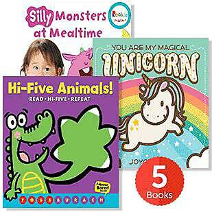 Raise a Reader Set: Cuddly Creatures Board Books (Ages 0-2)