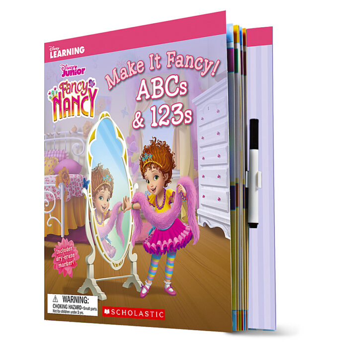 Disney Learning Fancy Nancy Make It Fancy Abcs 123s By Deanna Perez Paperback Book The Parent Store