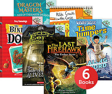 Raise a Reader Set: Adventure & Mystery (Ages 6-8)