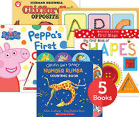 Raise a Reader Set: First Concepts Board Books (Ages 0-2)