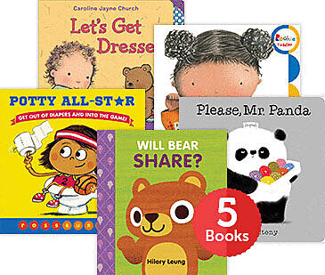 Raise a Reader Set: Toddler Skills Board Books (Ages 3-5)