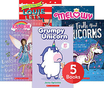 Raise a Reader Set: Unicorn Stories Chapter Books (Ages 6-8)