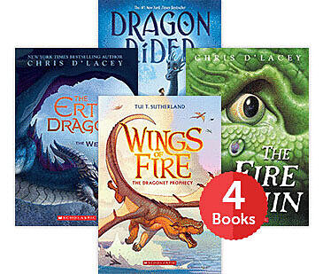Raise a Reader Set: Dragons Series Starter Bundle (Ages 9-12)