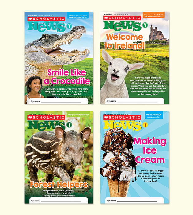 Scholastic News 1 Learn At Home Pack (Print + Digital)