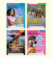 Scholastic News 2 Learn At Home Pack (Print + Digital)
