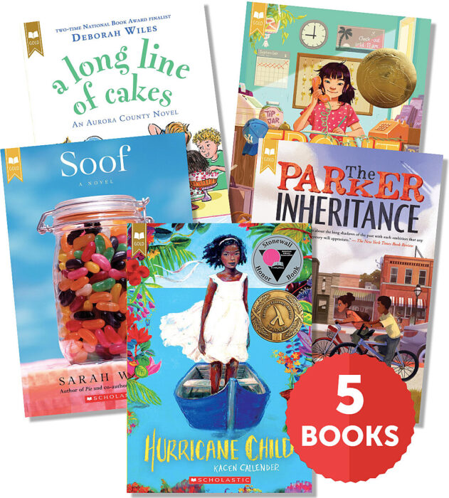 Raise a Reader Set: Scholastic Gold Pack (Ages 9-12)
