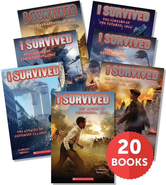 I Survived Collection #1-20 (Pack of 20)