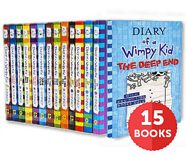 Diary of a Wimpy Kid Collection (Pack #1-15)