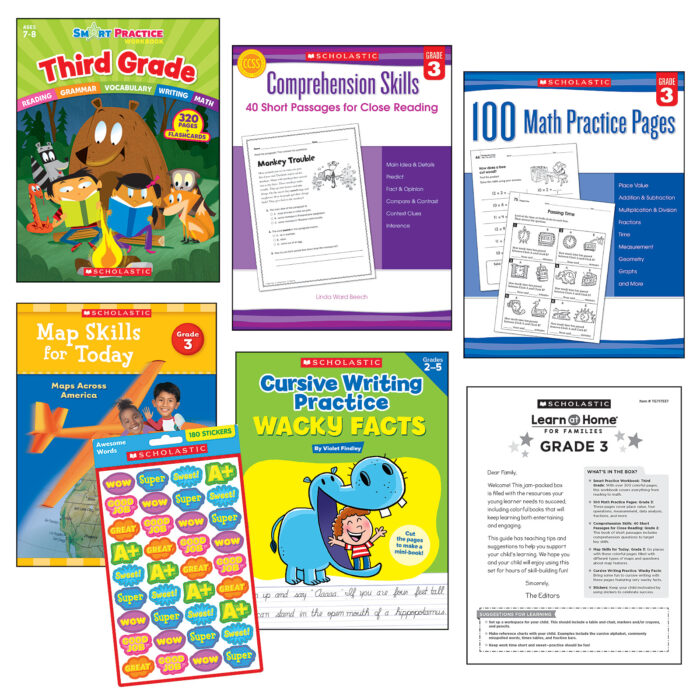 Learn at Home Third Grade Set