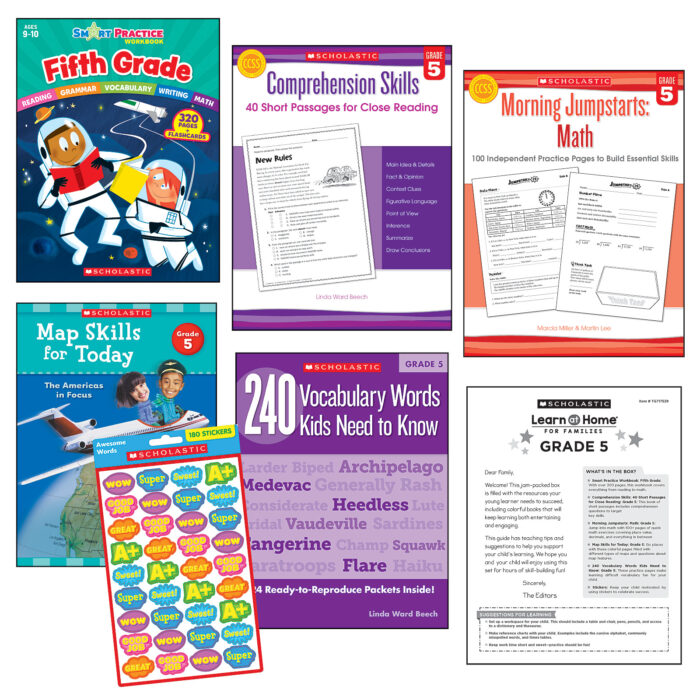 Learn at Home Fifth Grade Set